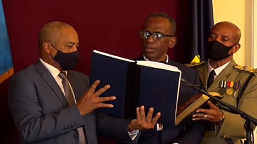 new-st-lucia-pm-is-sworn-in