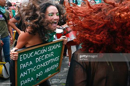 latin-america-2021-abortion-protest
