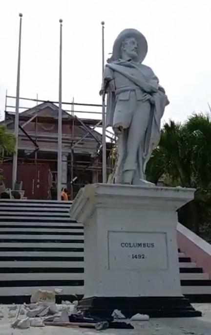 Columbus-statue-bahamas
